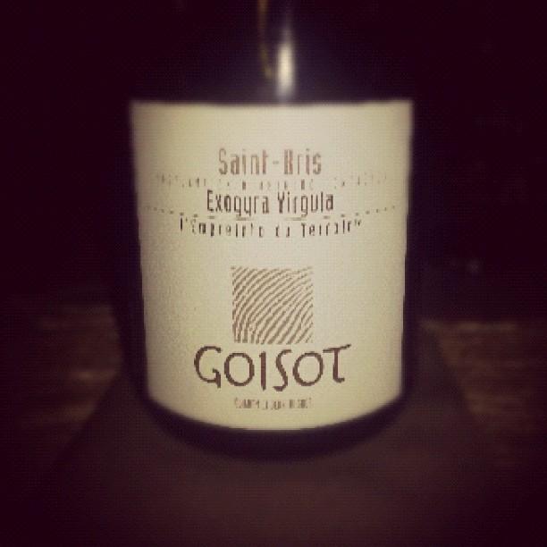 blog vin - Domaine Goisot - Saint Bris - Exogyra Virgula - 2010 - Bourgogne