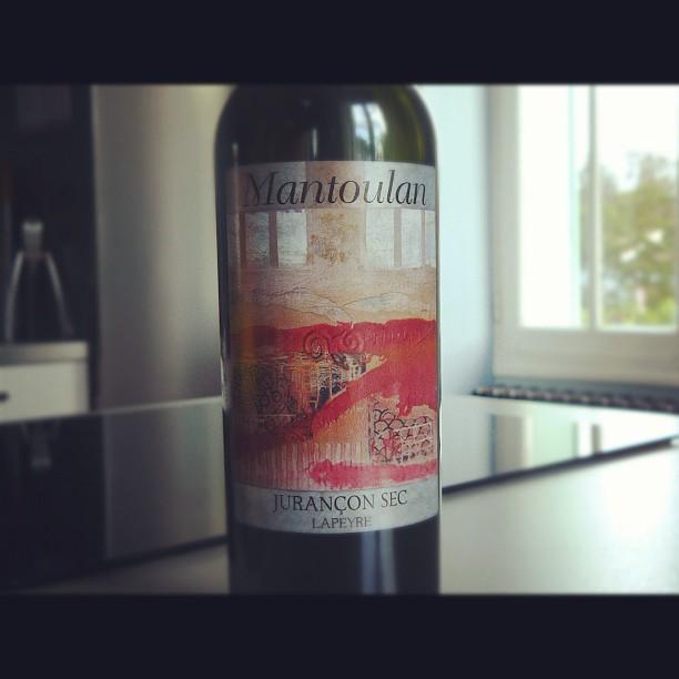 blog vin - Domaine Lapeyre - Mantoulan - Jurançon sec - 2008