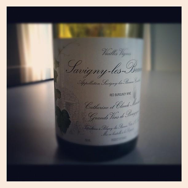 blog vin - Domaine Maréchal - Savigny Les Beaune - 2009 - Bourgogne
