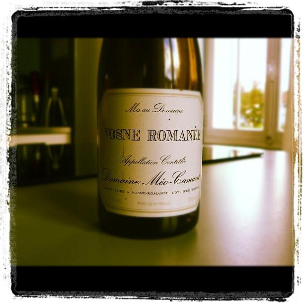 blog vin - Domaine Meo Camuzet - Vosne Romanée - 2004 - Bourgogne