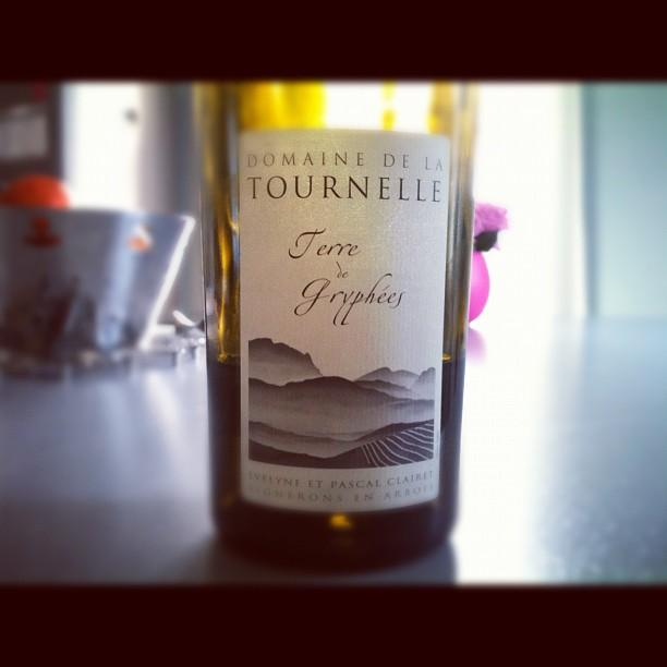blog vin - Domaine de la Tournelle - Arbois - Terre de Gryphées - 2010 - Jura