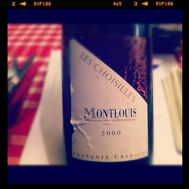 blog vin - François Chidaine - Les Choisilles - 2000 - Montlouis