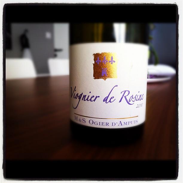 blog vin - Michel et Stephane Ogier - Viognier de Rosine - 2010 - VDP Collines Rhodaniennes