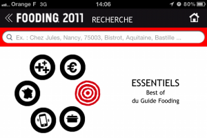 Lefooding.com – Application Iphone